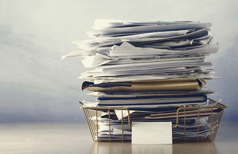How to Win the Battle Over Paper Documents: A Contact-Free Workflow Solution